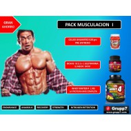 PACK I MUSCULACION