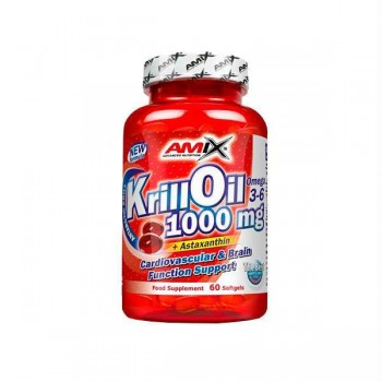 KRILL OIL 1000mg 60 CAPS