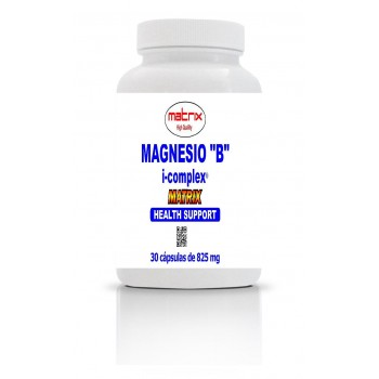 MAGNESIO B COMPLEX 30 Cps 825 Mgs