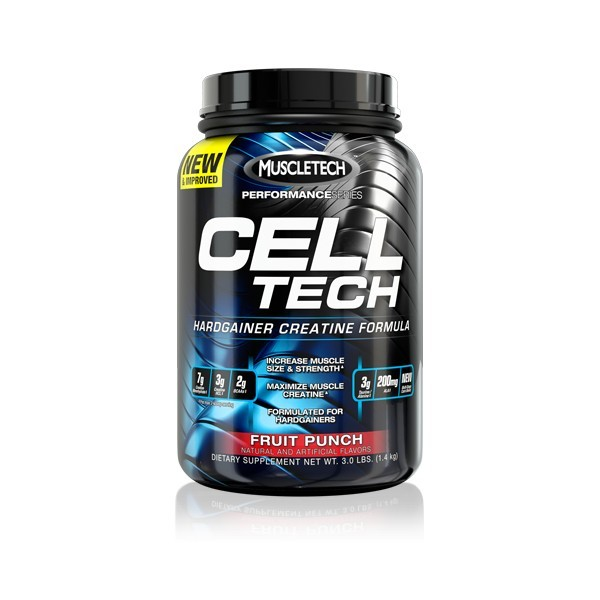 Cell tech new 3 lb muscletech grupp7 - Cell tech hardgainer creatine formula ...