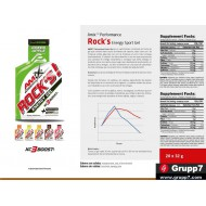 ROCK´S GEL CAFEINA 1 X 32 GRS COLA