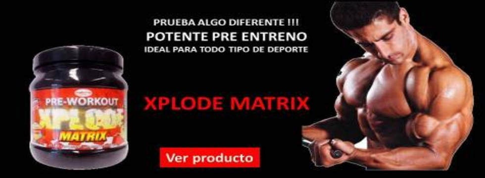 XPLODE MATRIX 400 Grs Frutos Rojos